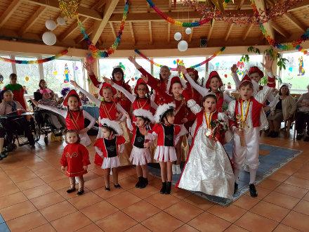 Rosenmontagsfeier mit der Tanztourbine Menden 12.02.2018